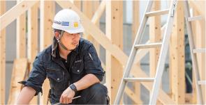 紀州国産木材を構造材に使用している例